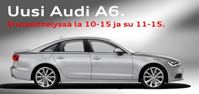 Audi a6 hinta uutena